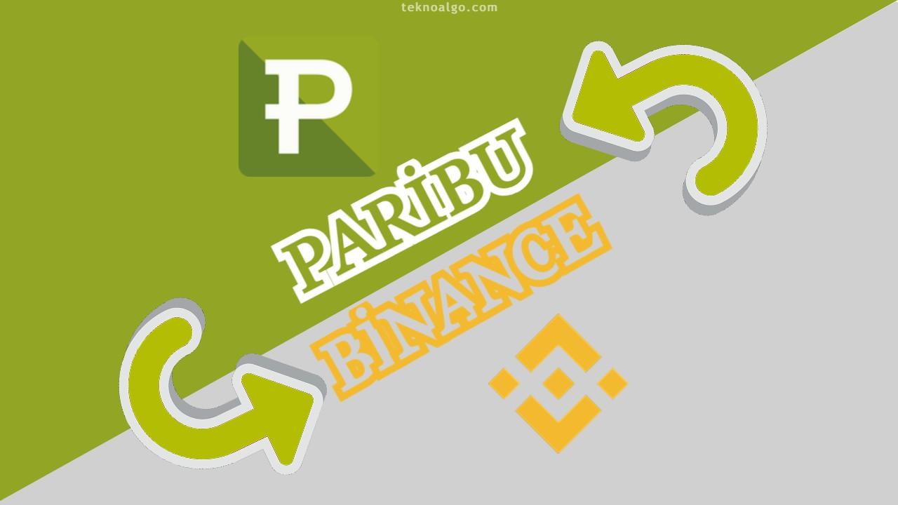 Paribu'dan Binance'ye Coin Transferi